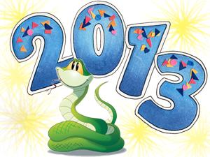 Новый год 2013 - год Змеи - Любовная песня Змеи - Олег Смирнов ...